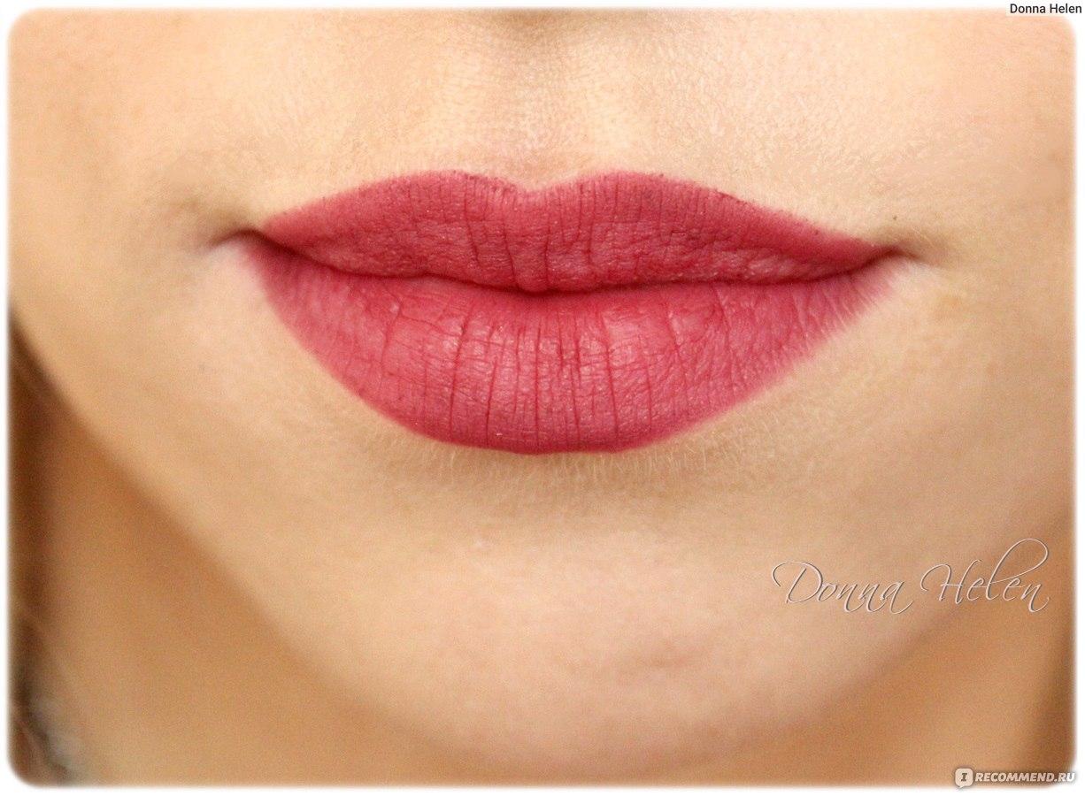 Как сделать чёткие губы