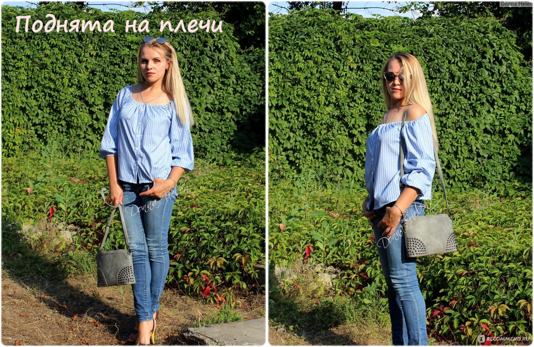 65f5f3a10ef Блузка AliExpress Casual Blouse Summer Tops Beach Casual Clothing Fashion  New Women Lady Clothes Tops Sexy