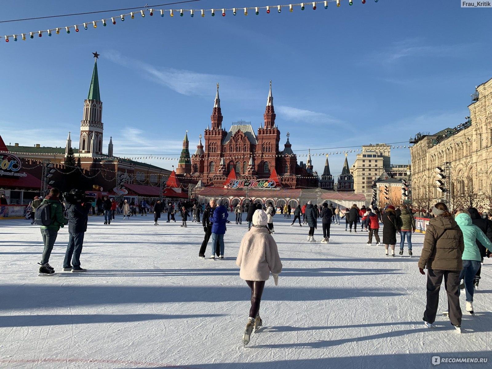 Каток в москве на красной площади фото