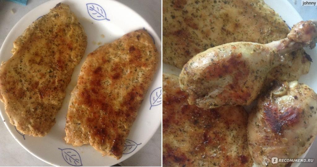 Курица жареная на сковороде без масла