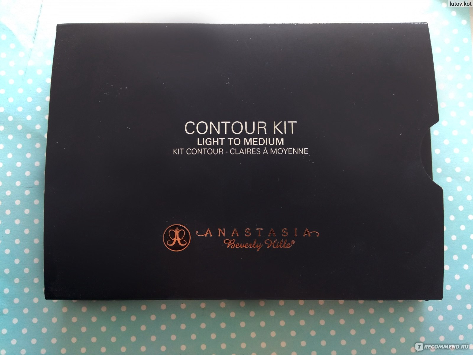 контурная палитра Anastasia Beverly Hills Contour Kit