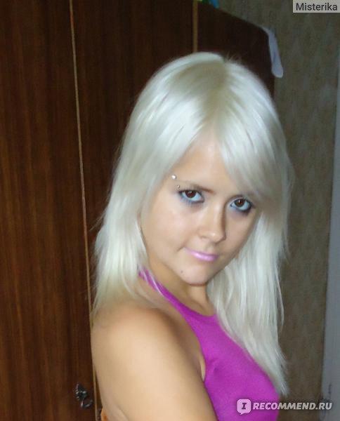 Цвет волос перламутровый и жемчужный
