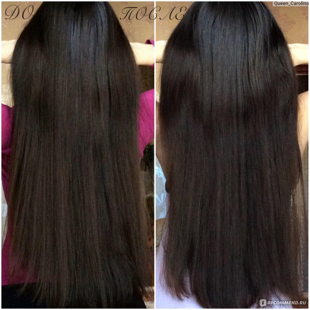 Ламинирование волос на желатине
