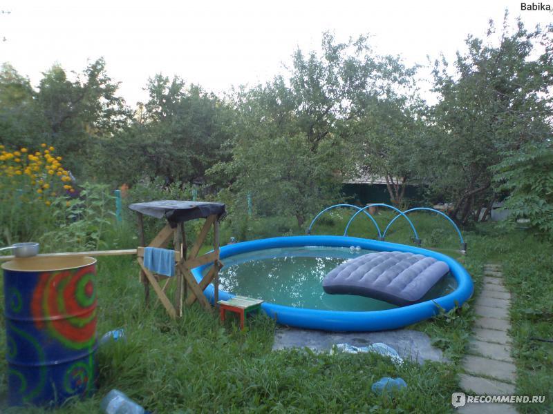 инструкция по установке надувного бассейна Bestway - фото 9