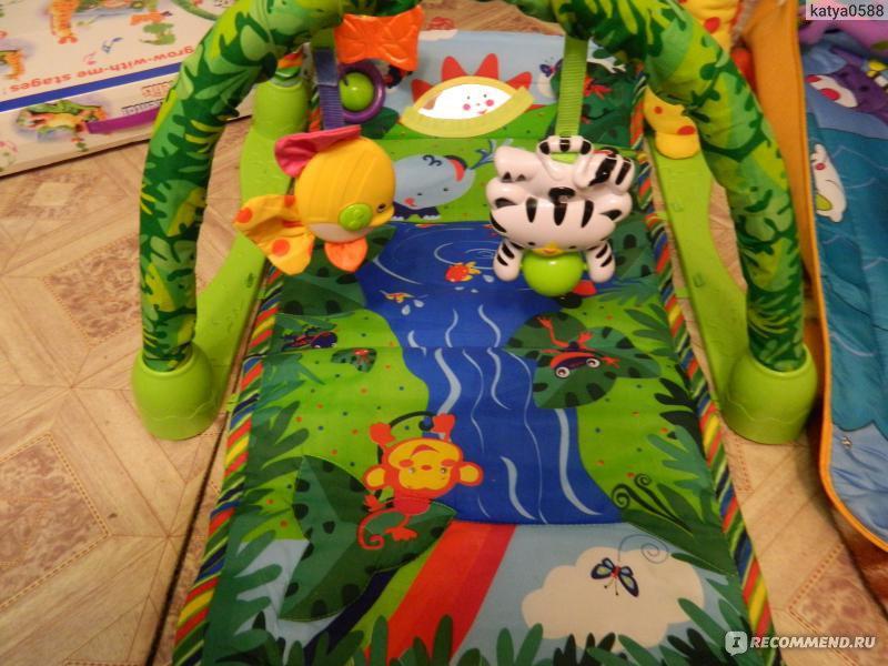 Развивающий коврик кари кидс