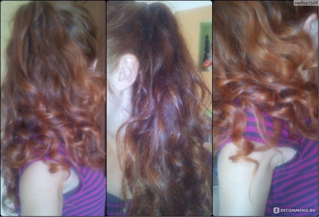 Оживились волосы