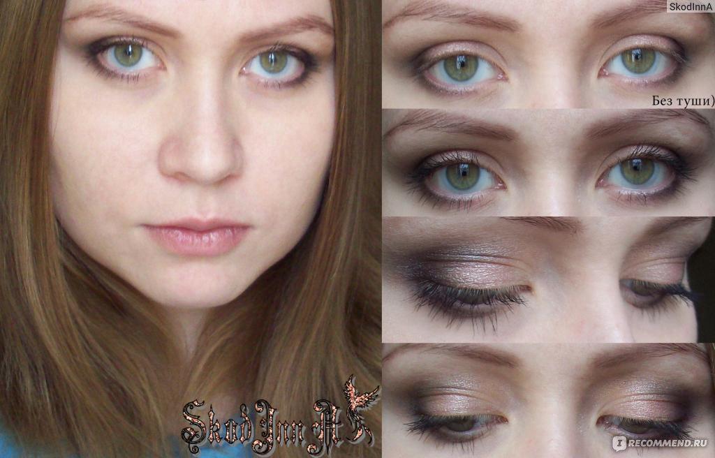 Варианты макияжа глаз без туши
