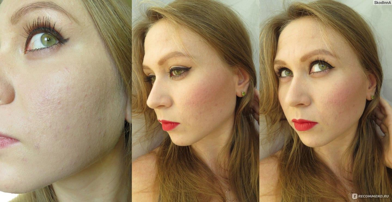 Фото макияжа с бронзатором