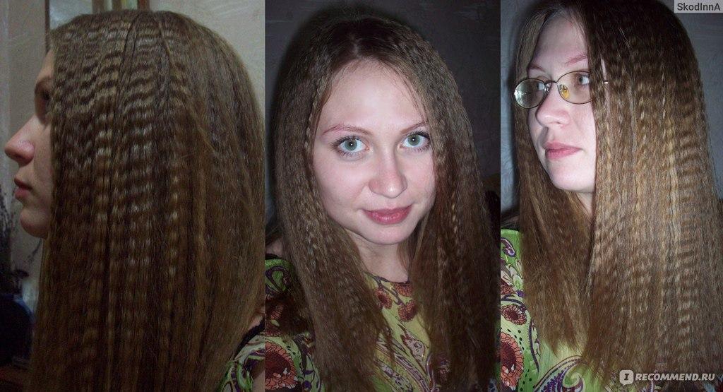 Как сделать вафли волосы