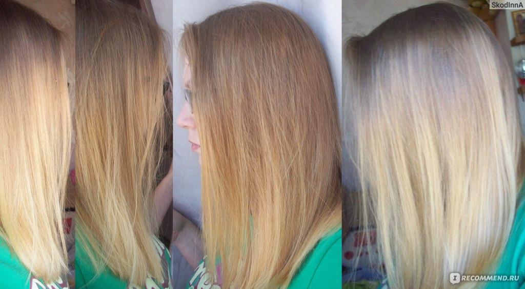 Фото как окрасить волос в белый