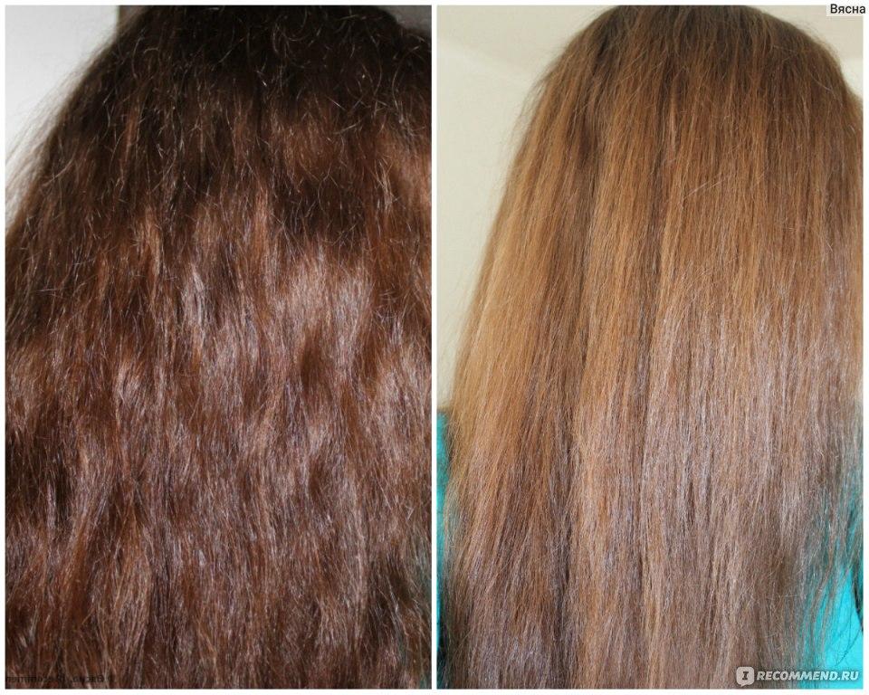 Осветляем темные волосы в домашних условиях 260