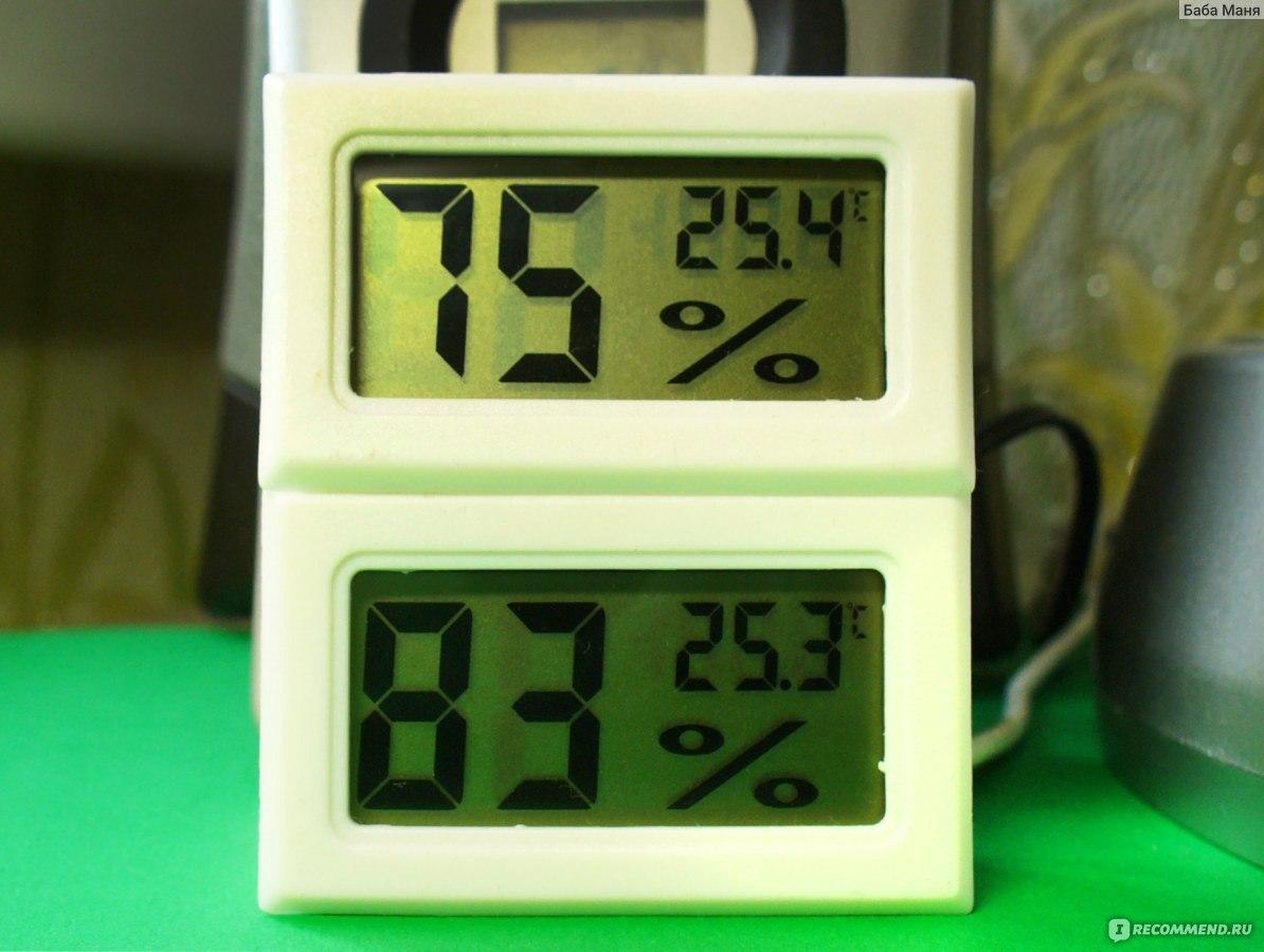 Простой цифровой термометр своими руками