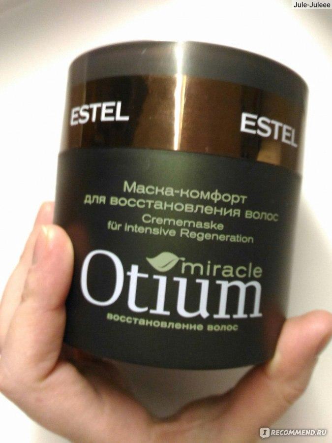 Маска для волос estel otium miracle восстанавливающая
