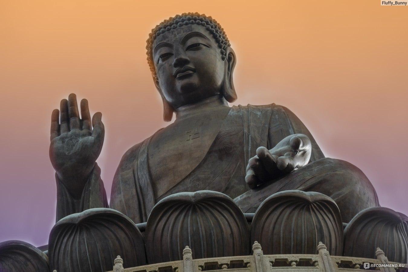 фото будда на острове лантау чтоб
