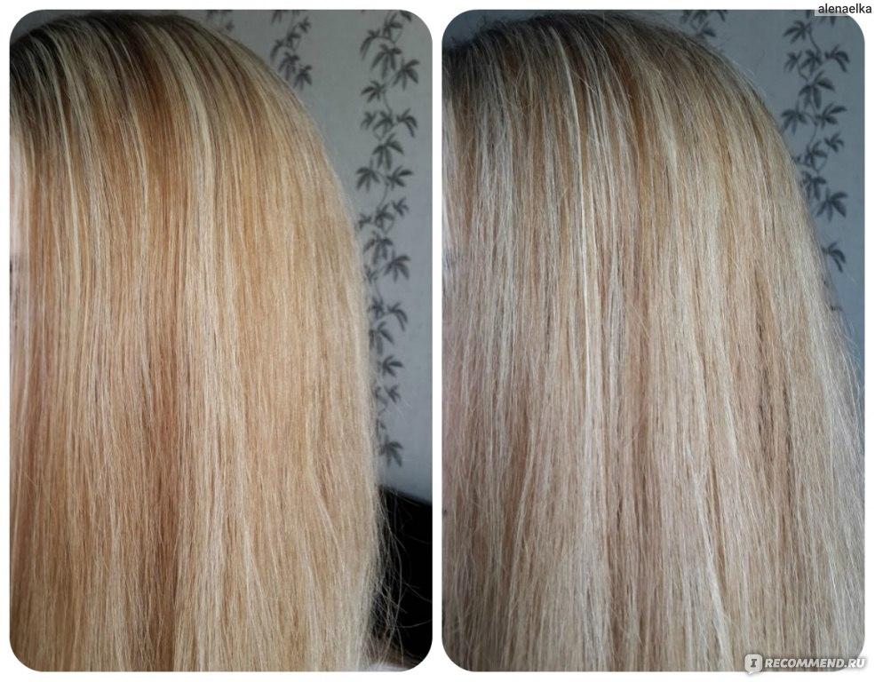 Как убрать желтизну с осветленных волос в домашних условиях отзывы
