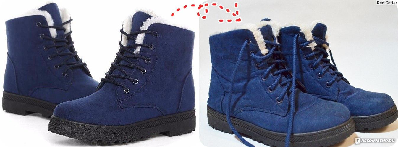 4a89c878d Ботинки женские зимние Aliexpress Women boots 2016 new arrival women winter  boots warm snow boots fashion