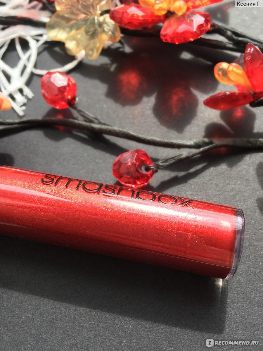 Губная помада с эффектом металлик фото 696-592