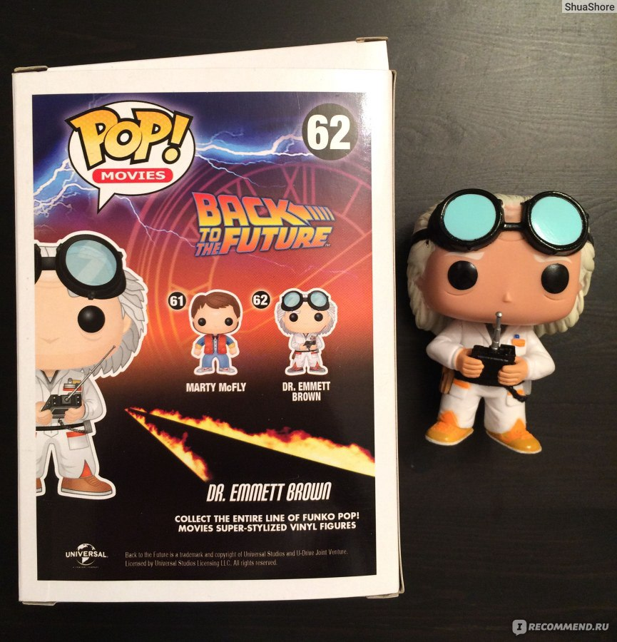 dr emmet brown funko pop