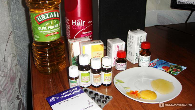 Лечение волос дома