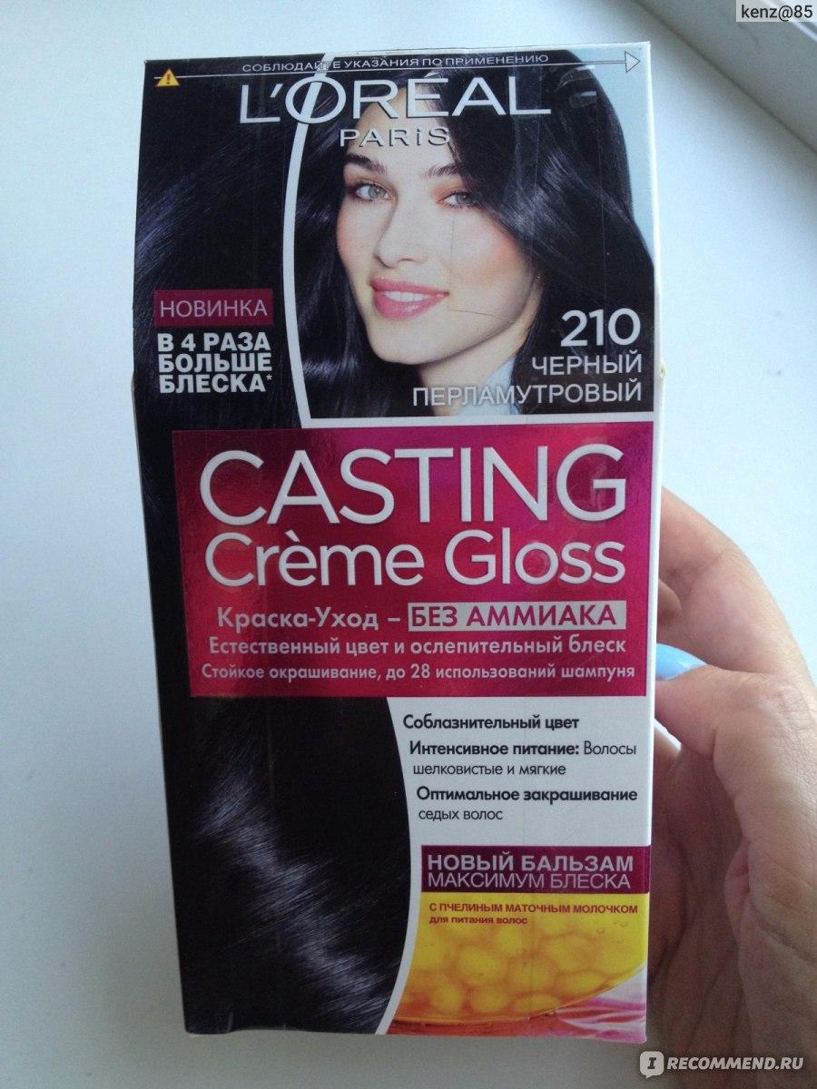 Краска для волос лореаль кастинг палитра цветов отзывы