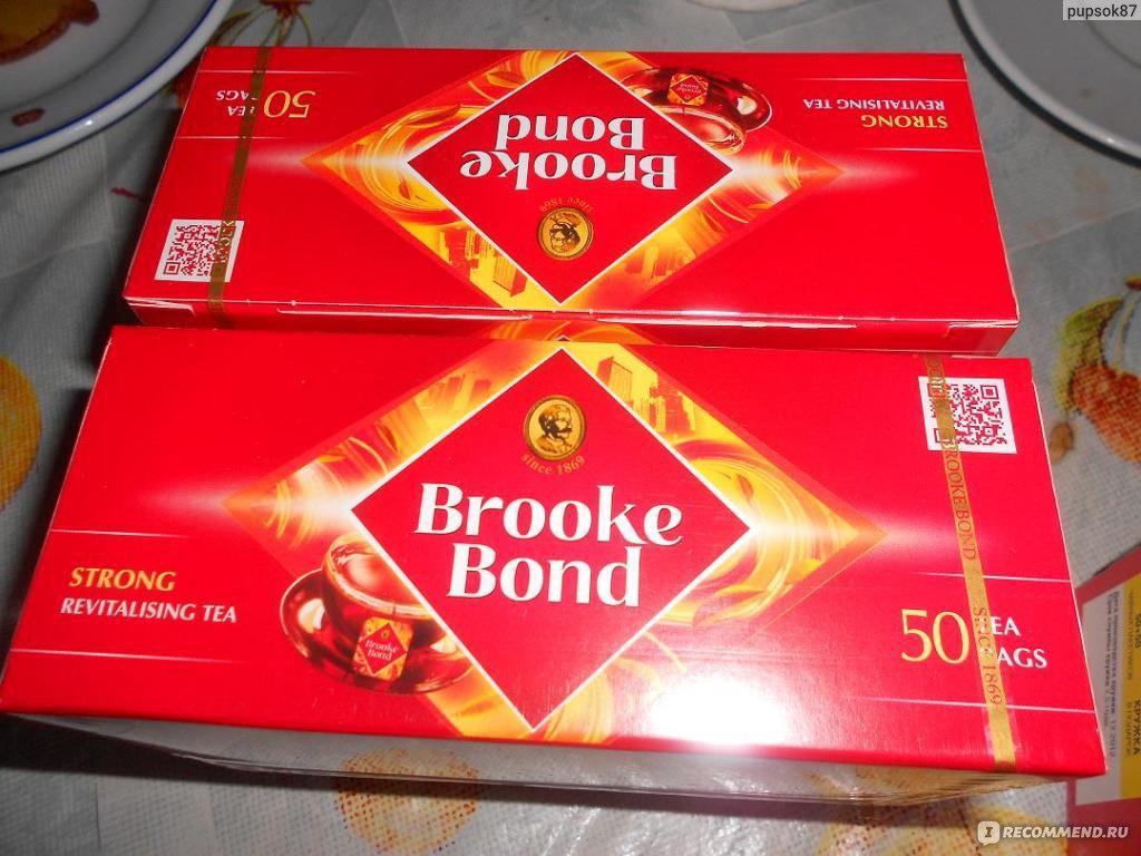 Чай brooke bond кружка в подарок 6