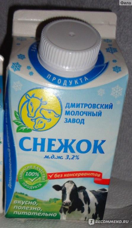 рецептура на кисломолочный напиток снежок