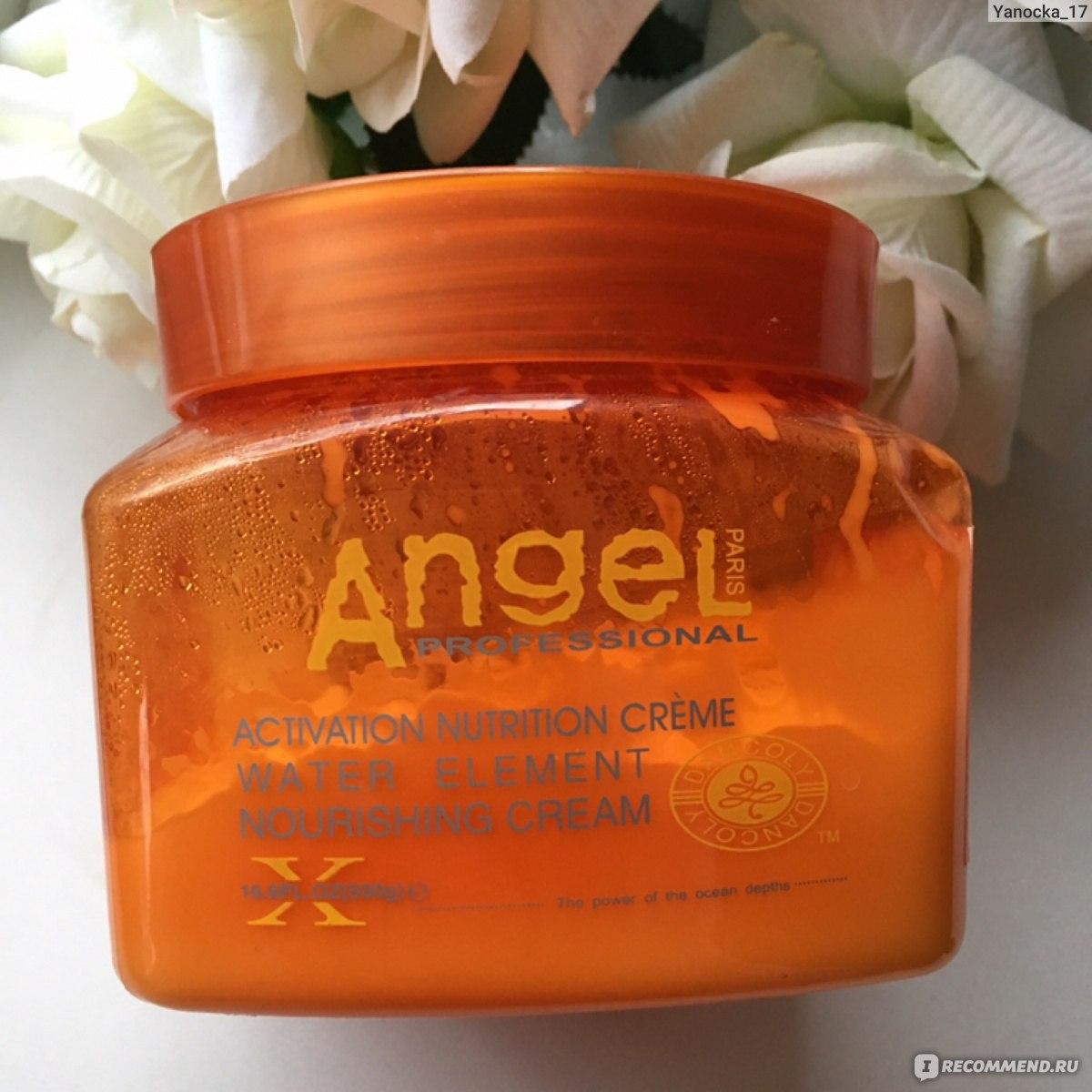 Крем для волос angel professional paris питательный крем с водорослями