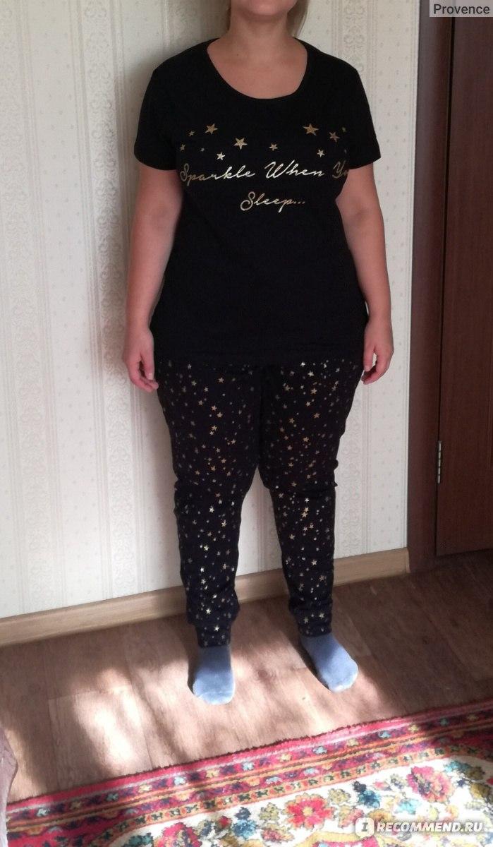 211d9ab078ee Пижама женская AVON Черная со звёздочками - «Приготовьтесь блесть ...