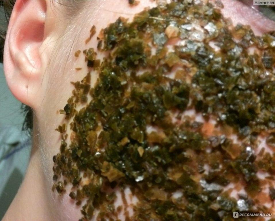 маски из морской капусты для лица в домашних условиях