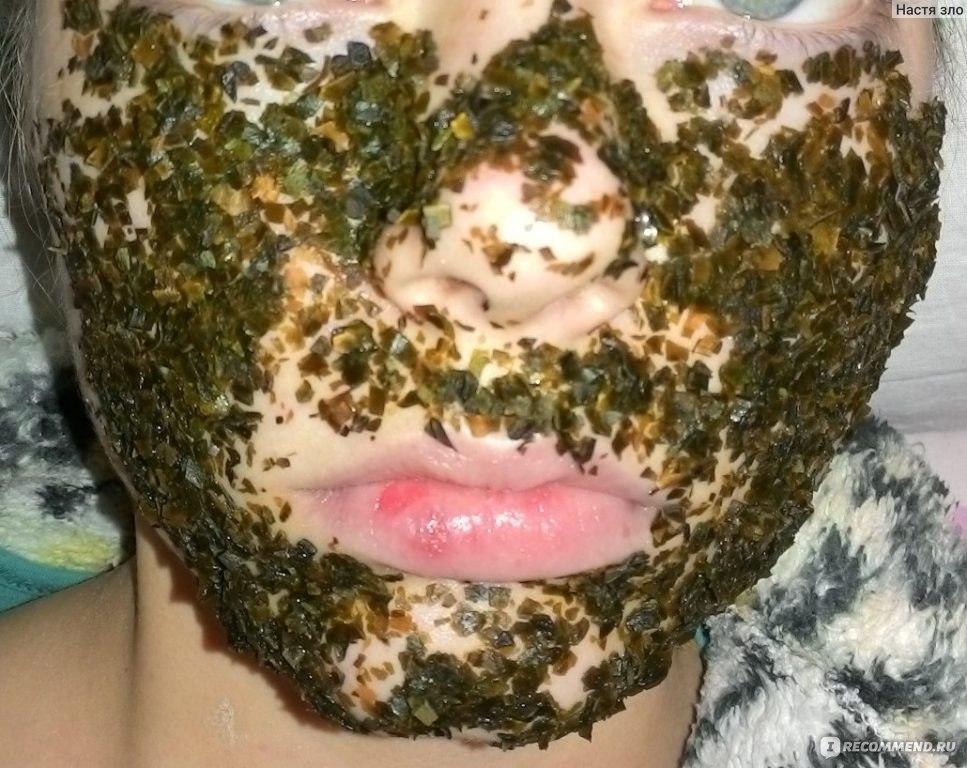 Ламинария маска для лица в домашних условиях от морщин