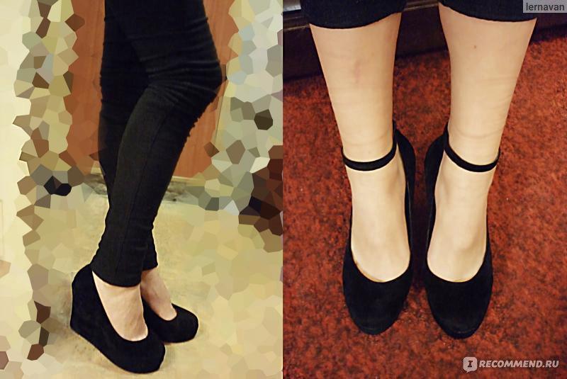 75dd40984 Туфли Aliexpress Platform high heels Wedges Buckle shoes - «Милые ...