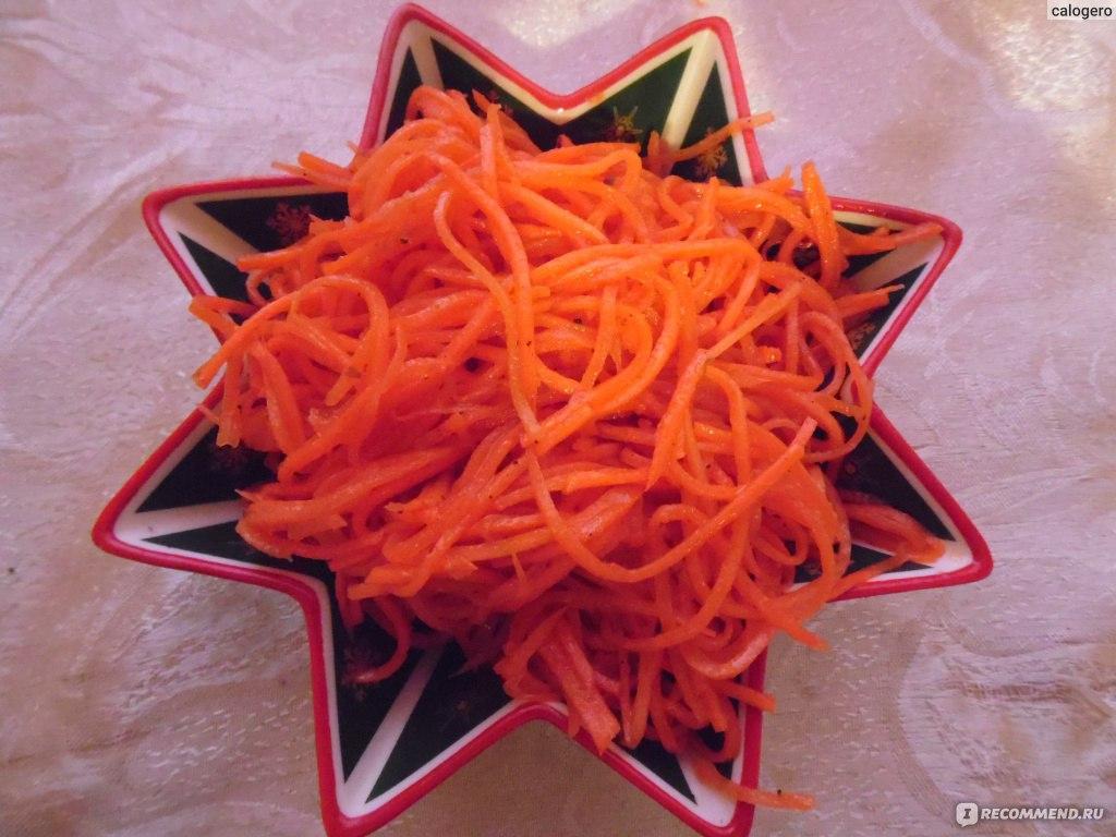 Морковка по-корейски своими руками
