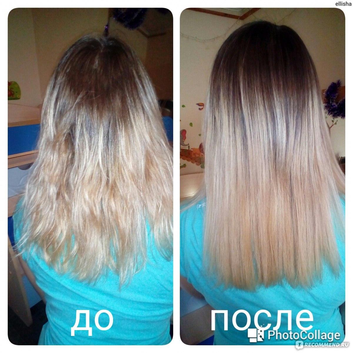 Как сделать выпрямление волос в