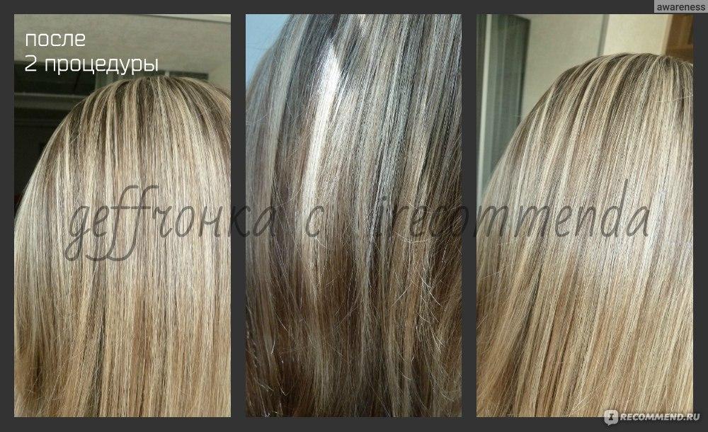 Процедура экранирования волос в домашних условиях эстель