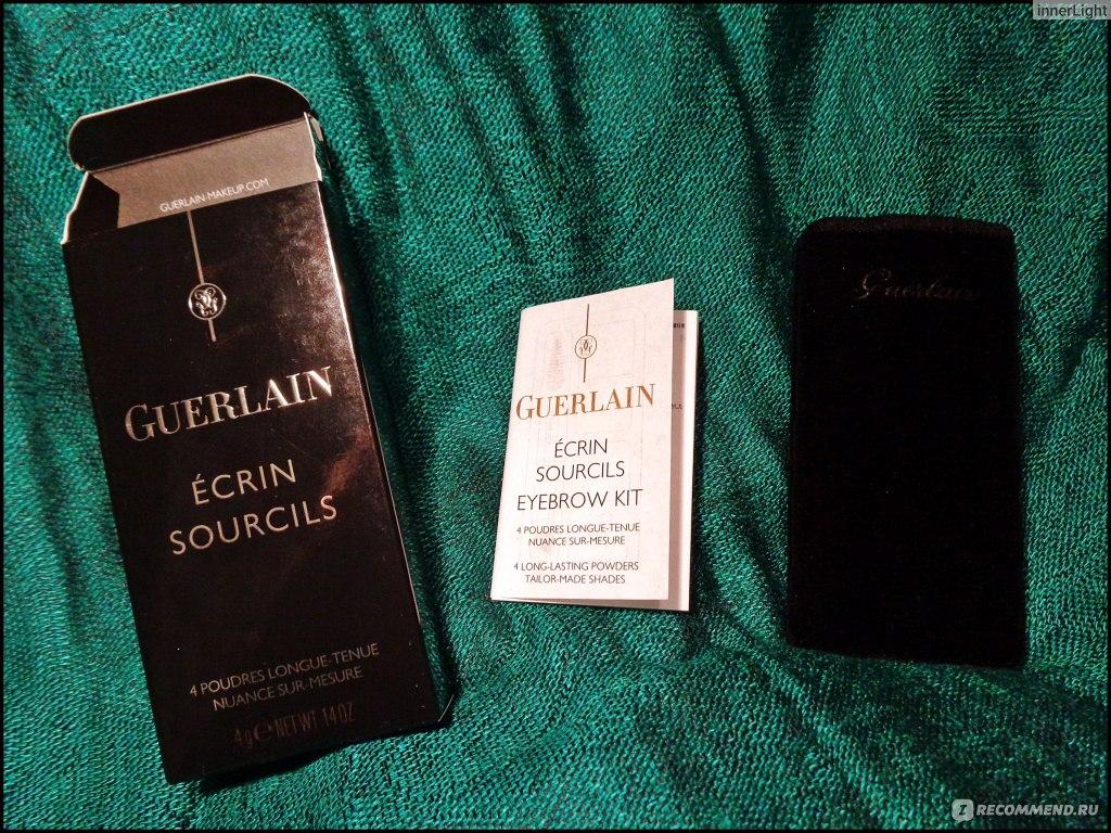 how to use guerlain eyebrow kit