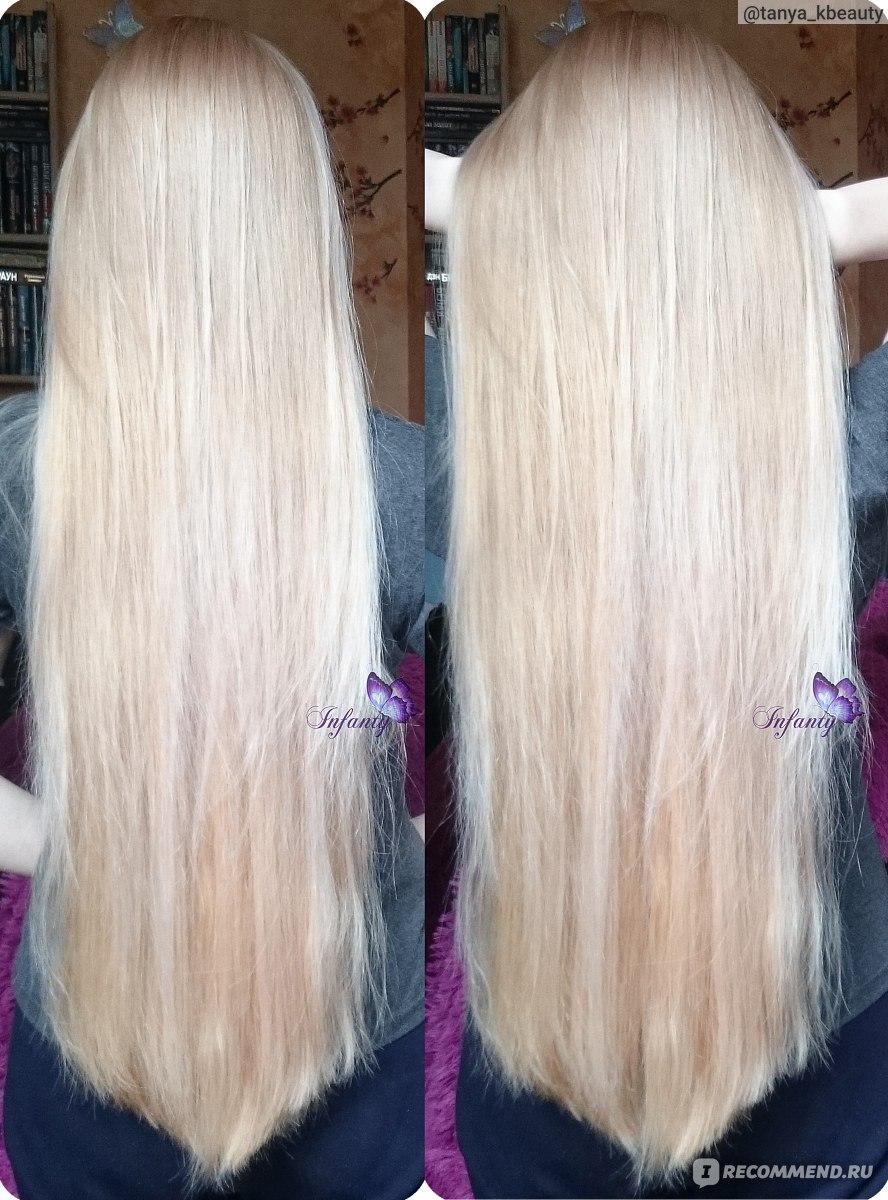 Оттеночный шампунь для блондинок от желтизны обзор