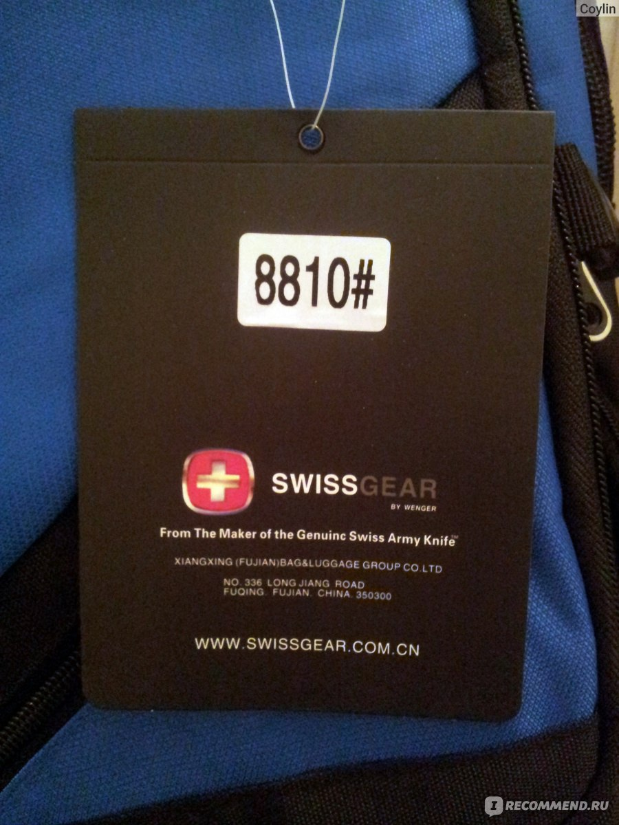ab55e3ff97bf Городской рюкзак SWISSGEAR 8810  blue - «Отличные идеи для рюкзака и ...