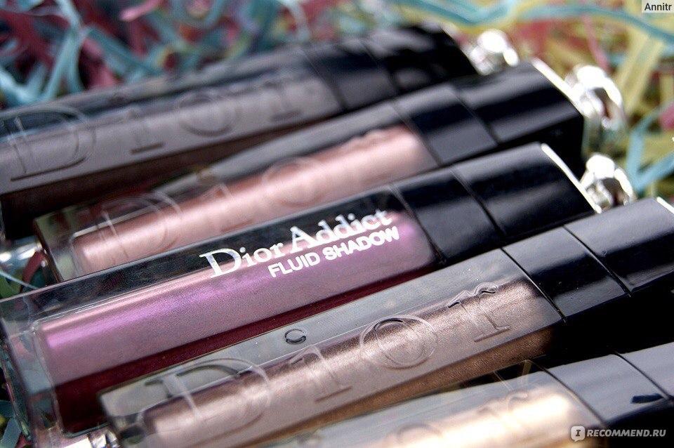 Тени для век Dior Addict Fluid Shadow - «☆ Dior Addict Fluid Shadow ... 32613a8e22fad