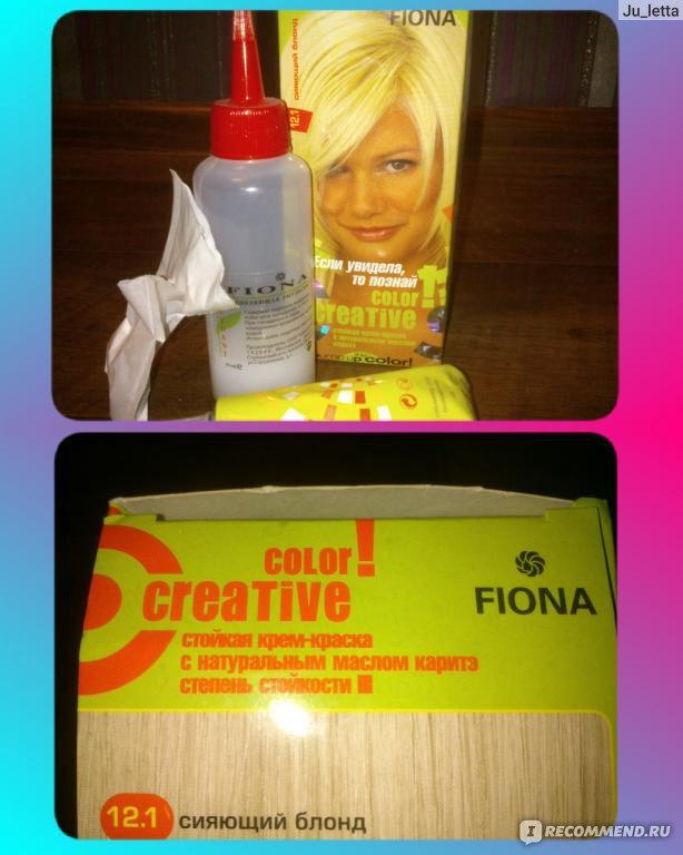 Краска для волос в домашних условиях блонд