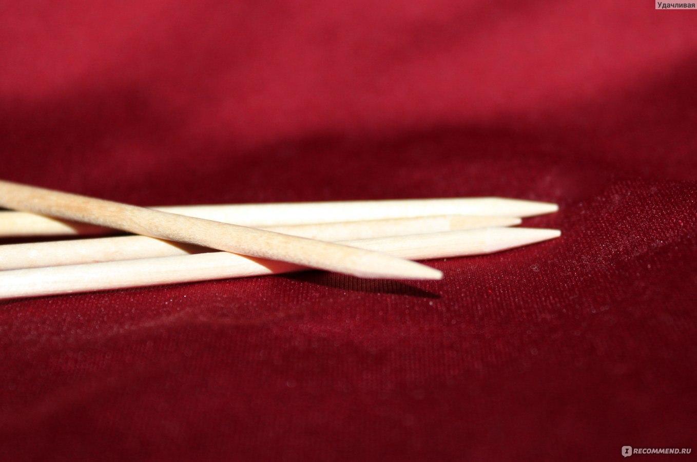 Апельсиновые палочки для ногтей фото