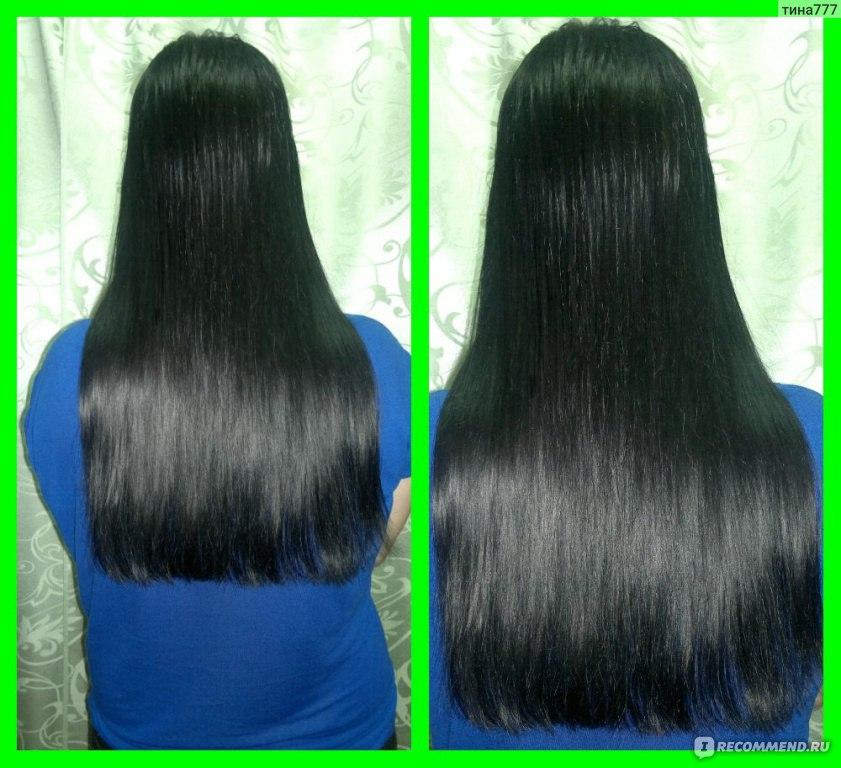 Чёрный тоник для волос