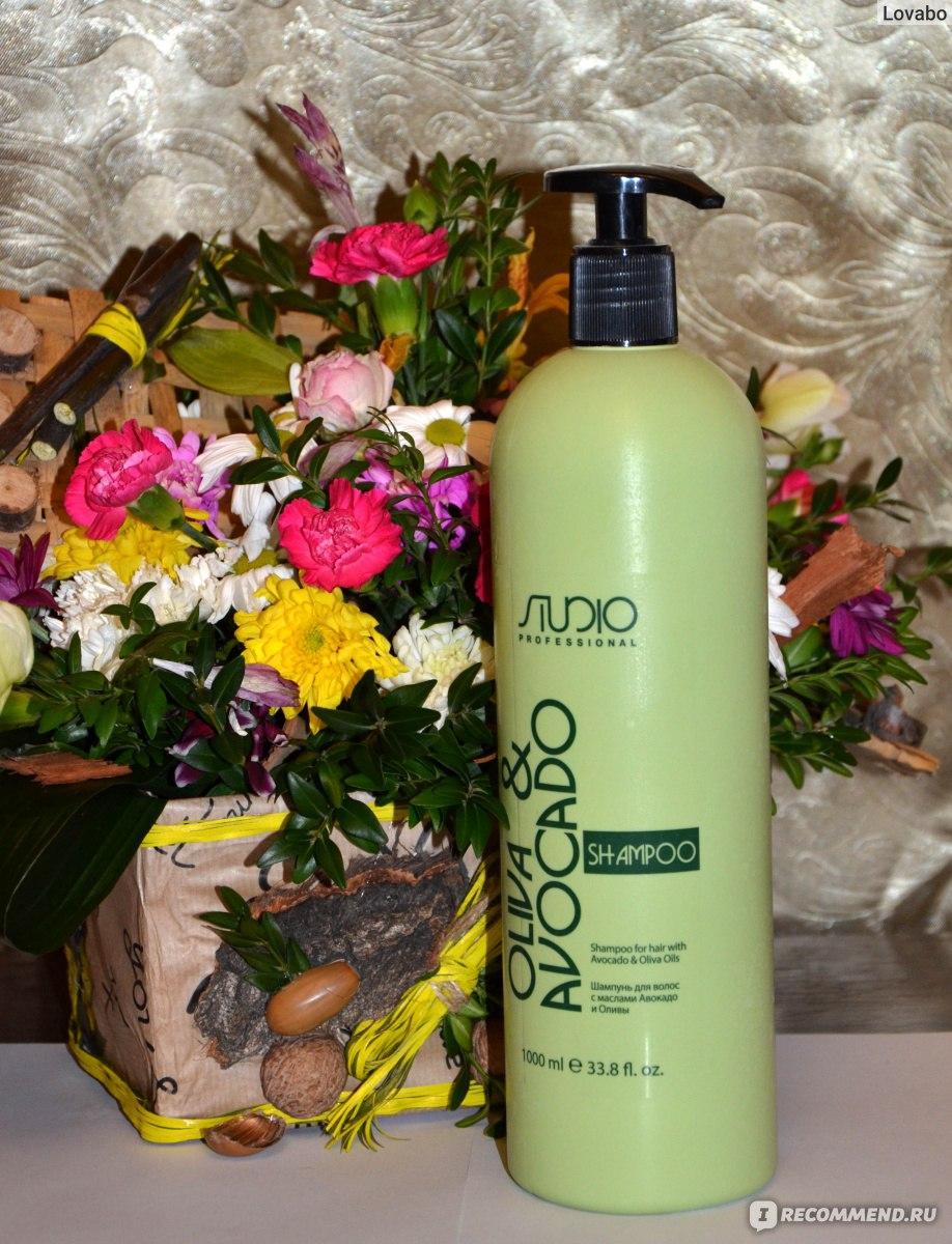 Шампунь увлажняющий для волос с маслами авокадо и оливы 1000мл