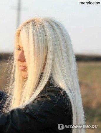 как добиться белого цвета волос без желтизны видео