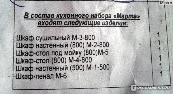инструкция по сборке кухни лиза жлобинмебель - фото 8