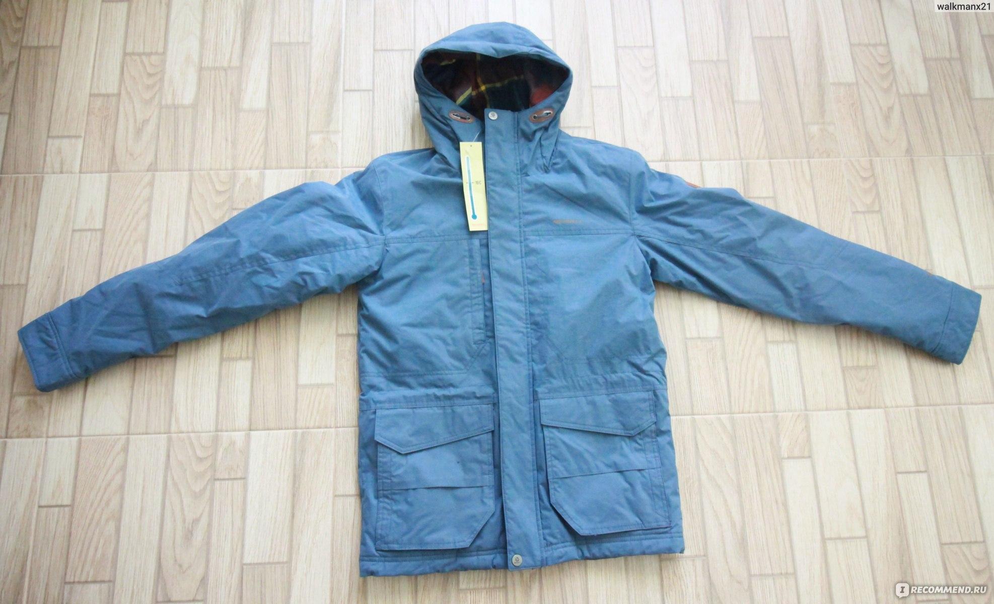 32d1874c Куртка утепленная мужская Merrell Tanais. Арт.: А18АМRJАМ05 фото