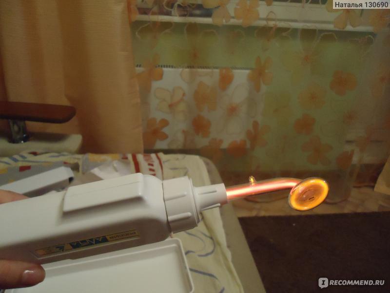 Купить дарсонваль ультратон 03 амп с грибовидным электродом и.