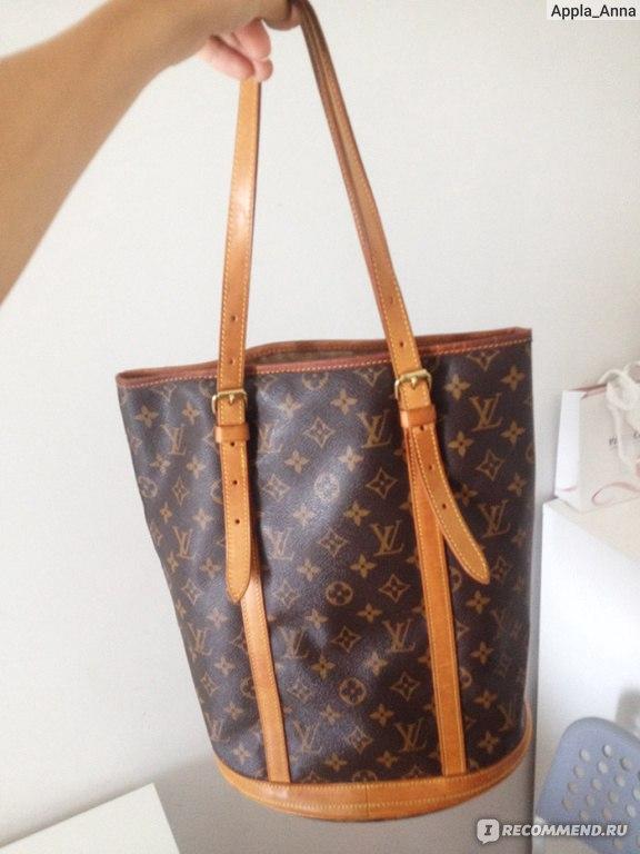 316f17b8ca6e Сумка Louis Vuitton Monogram Large Bucket GM Tote Bag - «Моя ...