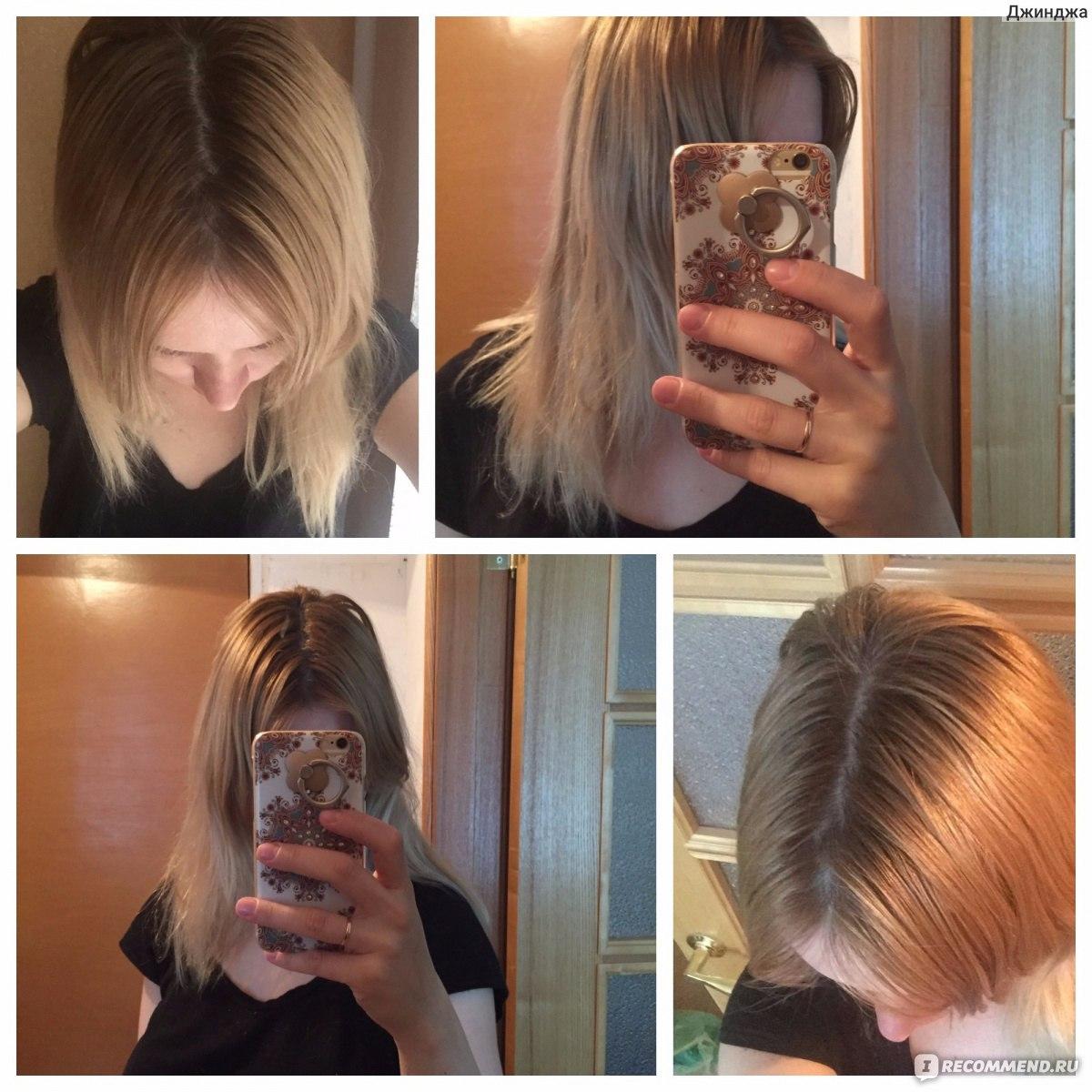 Краска для волос осветляющая щадящая