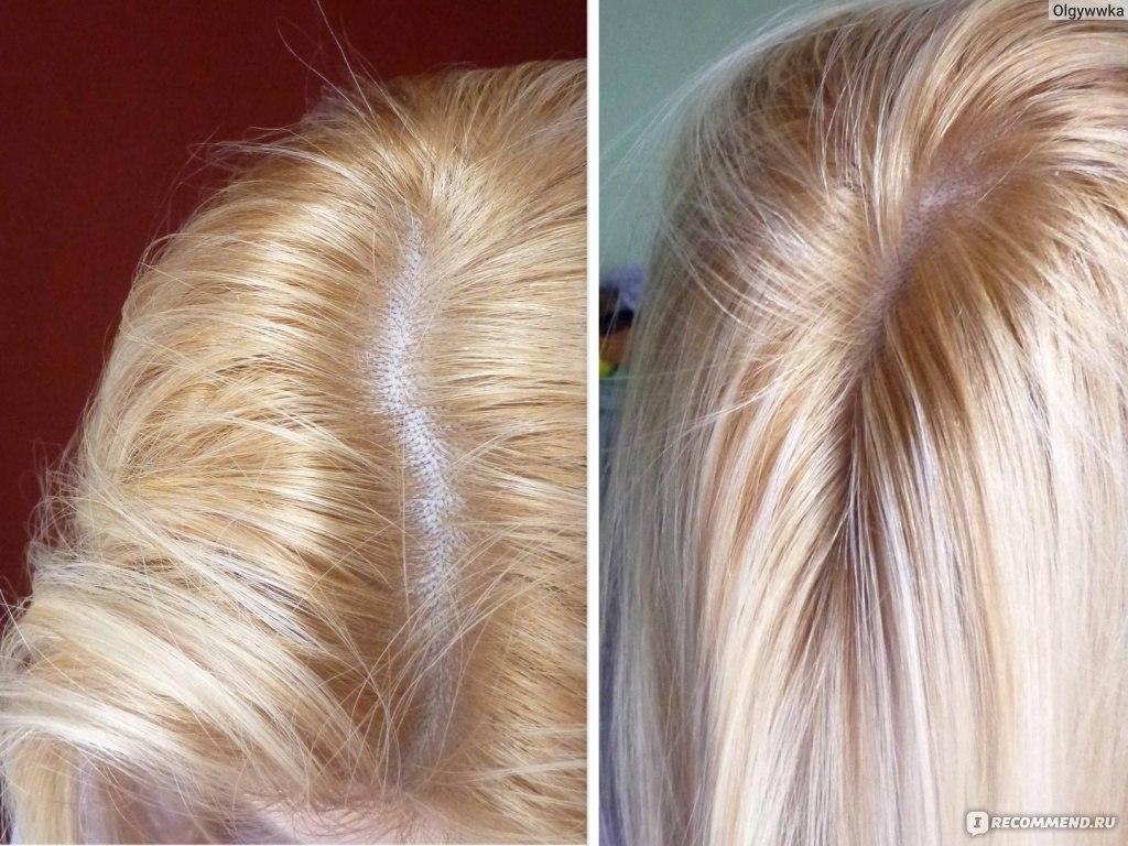 Как покрасить волосы краской оллин