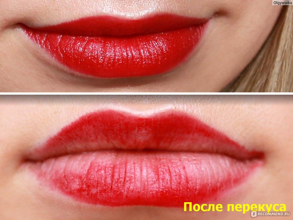 помада Deborah Atomic Red Mat Lipstick ваши бархатные губки